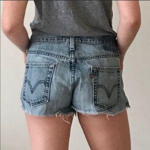 Levi's Shorts - Levi's Urban Renewal Denim Shorts